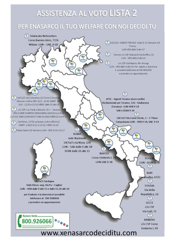 mappa voto x social e sito